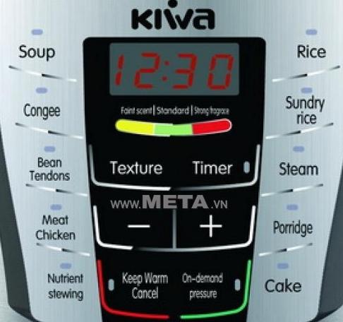 Nồi áp suất điện Kiwa 6 lít KW-600S