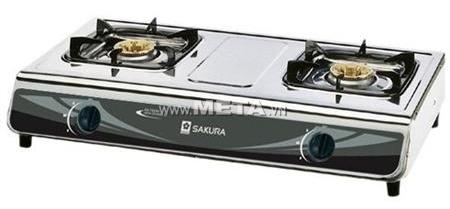 Bếp ga dương kính Sakura SA-742AS