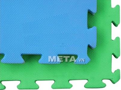 Thảm trải sàn tập tạ 1m x 1m có hai mặt
