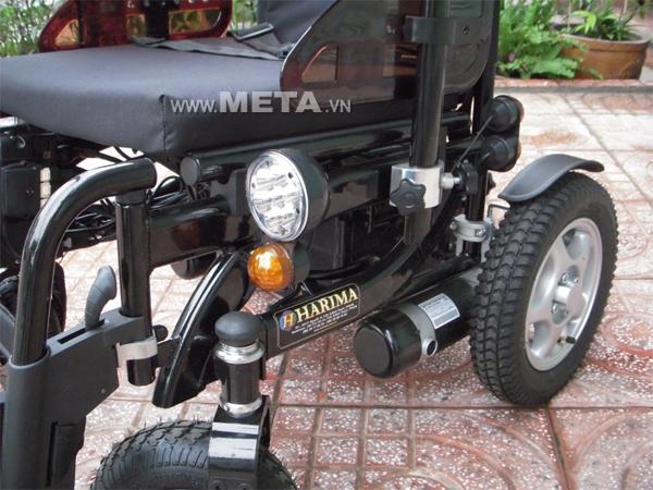 Xe lăn điện W-HA-1032-LIGHTING có đèn chiếu sáng ban đêm