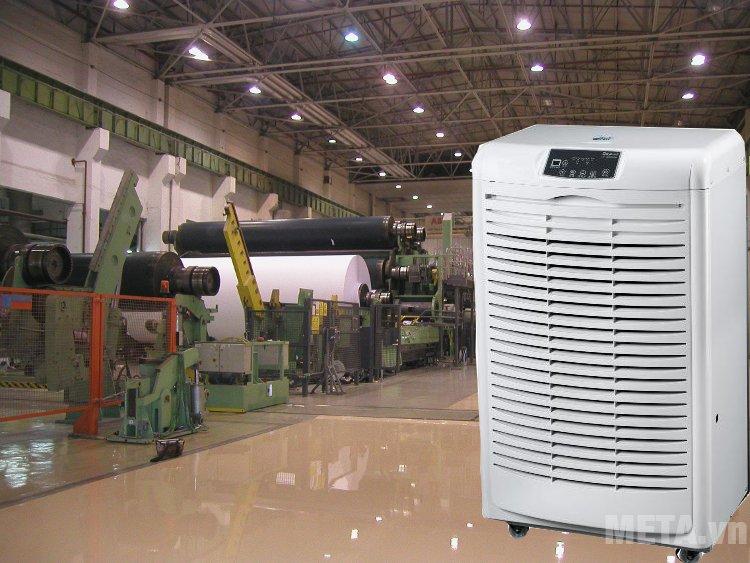 Máy hút ẩm công nghiệp Fujie HM-6105EB được ứng dụng nhiều trong đời sống