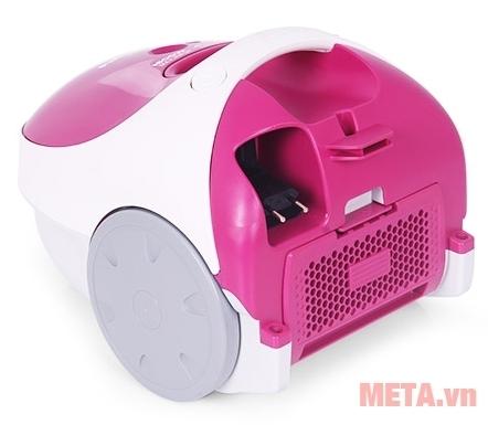 Máy có bộ lọc khí Hepa kháng khuẩn cực mạnh thích hợp nhà có người bị dị ứng và hen xuyễn.