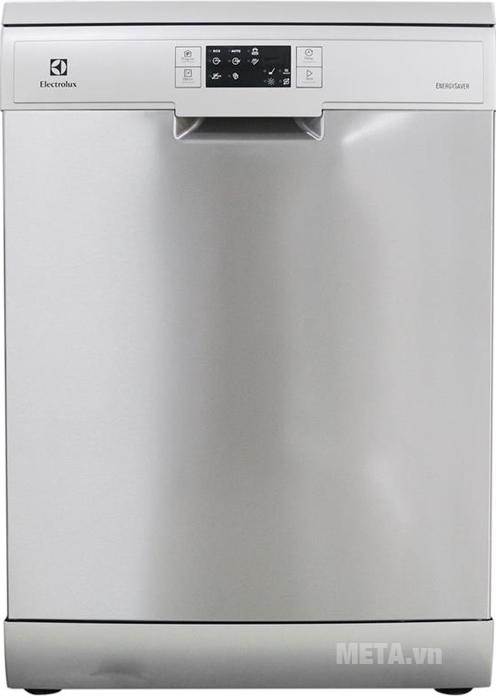 Máy rửa chén bát Electrolux ESF5511LOX có thiết kế đẹp mắt, hiện đại.