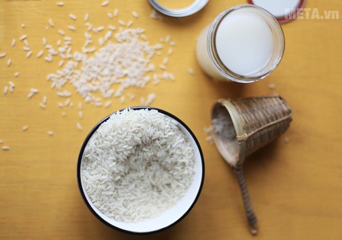 Gạo Bắc Hương cho hạt gạo mẩy, dài, thơm ngon.