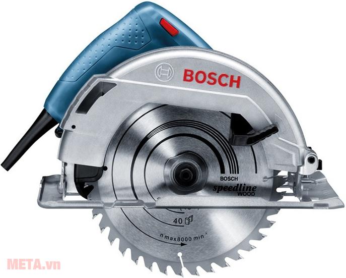 Máy cưa đĩa Bosch GKS 7000 với thiết kế hiện đại.