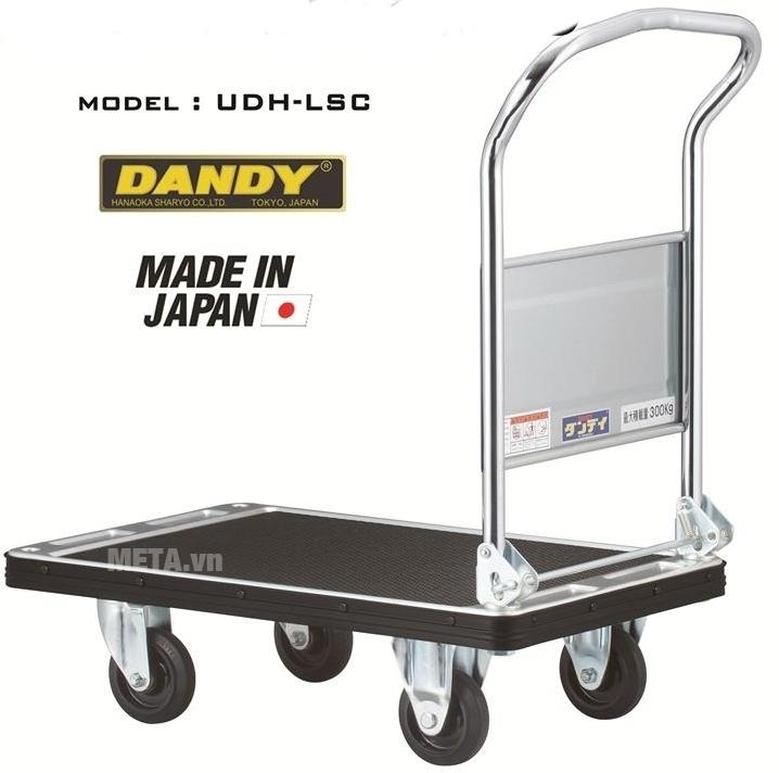 Xe đẩy hàng Nhật Bản DANDY UDH-LSC chịu được tải trọng lớn.