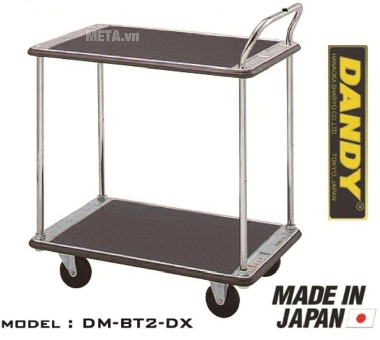 Xe đẩy hàng Nhật Bản 2 tầng Dandy DM-BT2-DX thiết kế hiện đại.