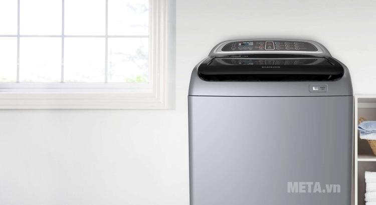 Máy giặt Samsung WA90J5710SG 9kg phù hợp với mọi không gian của gia đình.