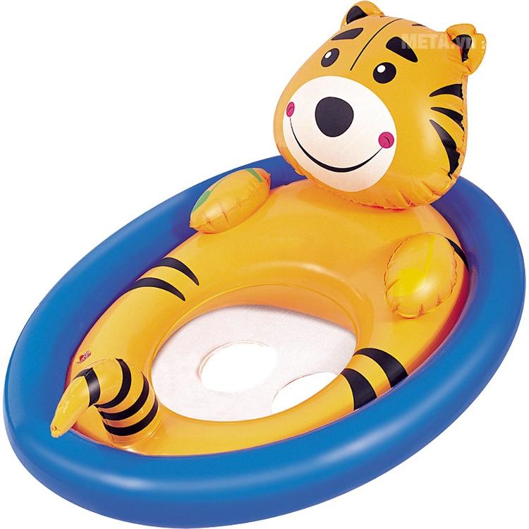 Phao bơi hình con thú chống lật Bestway 34058 hình con hổ.