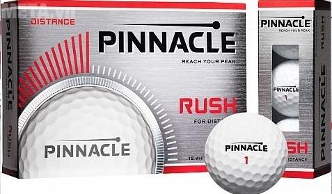 Bóng Golf Pinnacle RUSH WHT 2016 P4034S với hộp đựng 15 quả.