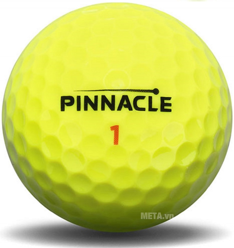 Bóng golf Pinnacle RUSH YEL 2016 P4134S màu vàng.