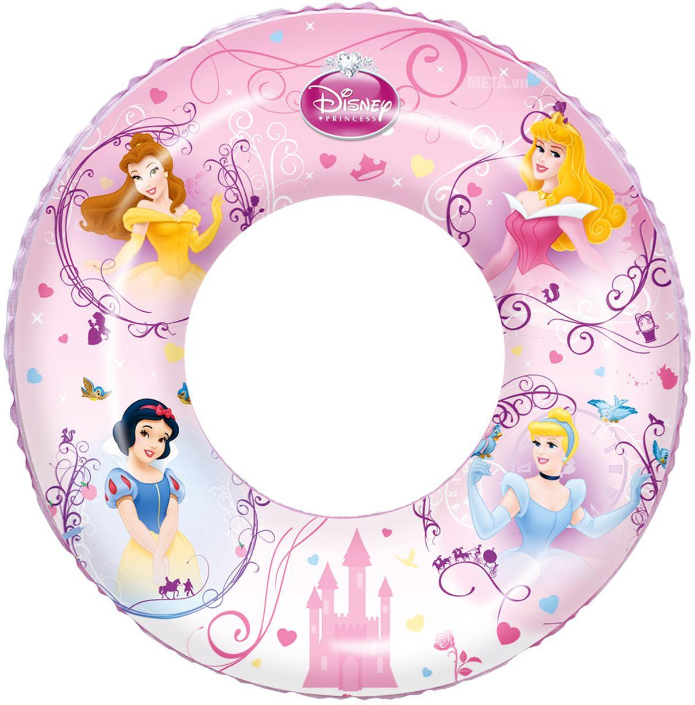 Phao bơi hình công chúa Bestway 91043 với màu hồng dễ thương.