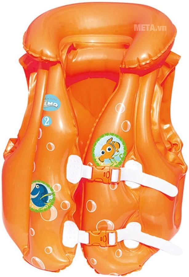Áo phao cá vàng Nemo Bestway 91104 với thiết kế đáng yêu.