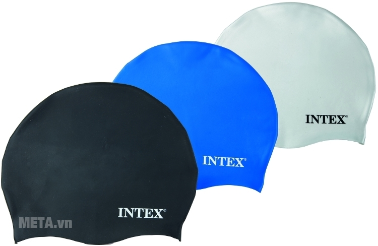Mũ bơi INTEX 55991 voứi 3 màu đa dạng.