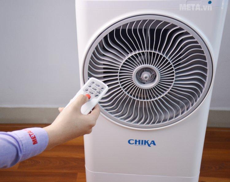 Máy làm mát Chika CK16B có điều khiển từ xa