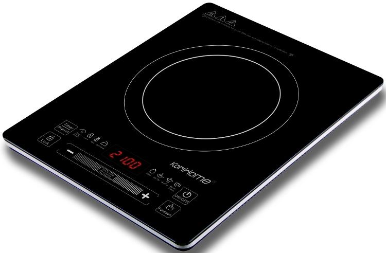 Bếp điện từ cảm ứng KoriHome ICK-226 với thiết kế màu đen cá tính.