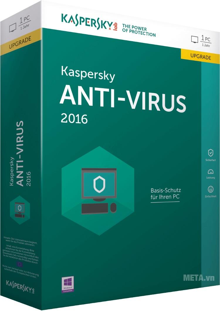 Kaspersky Anti-Virus bảo vệ máy tính khỏi virus và malware