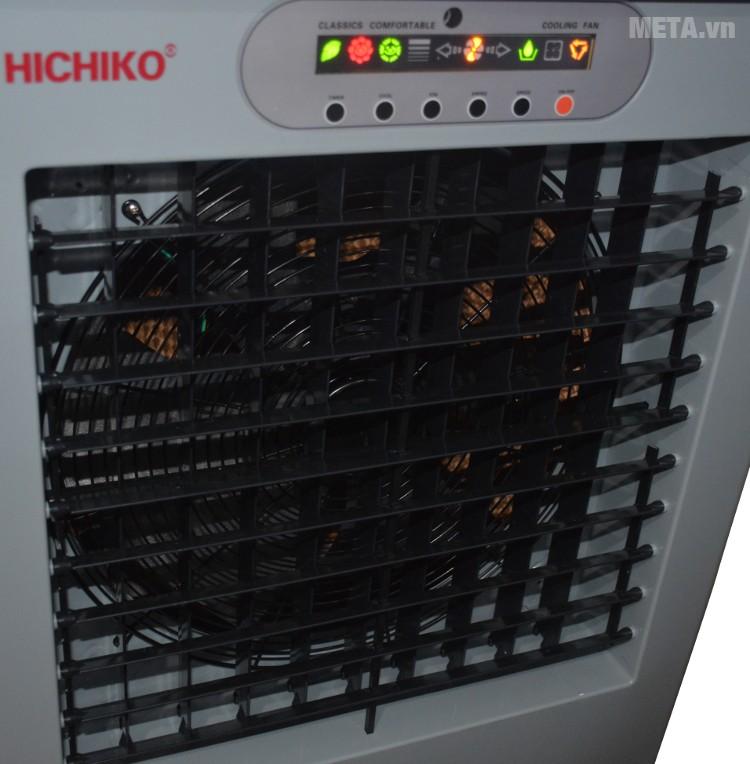 Máy làm mát Hichiko HC-6161 thiết kế quạt gió đảo chiều.