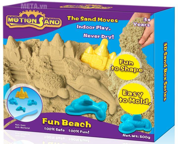 Cát tạo hình lâu đài và động vật biển Motion Sand MS10.