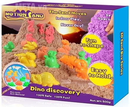Cát tạo hình các loại khủng long Motion Sand MS13A.