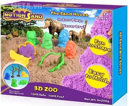 Cát tạo hình vườn thú và thú Motion Sand MS1501.