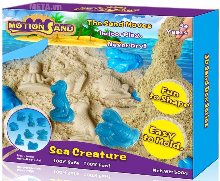 Cát tạo hình các động vật biển Motion Sand MS16.