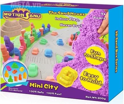 Cát tạo hình mô hình thành phố nhỏ Motion Sand MS17.