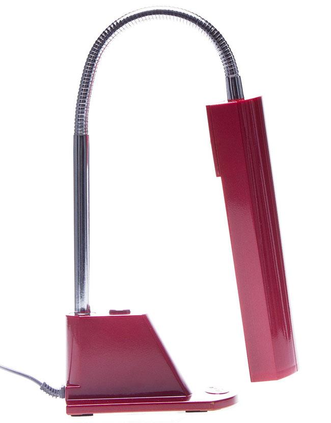 Đèn bàn cao cấp V-light FGL 13w màu đỏ