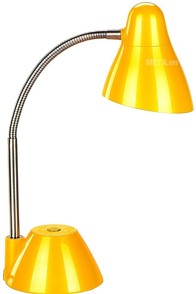 Đèn bàn cao cấp V-light P-LED 6W với thiết kế màu vàng.
