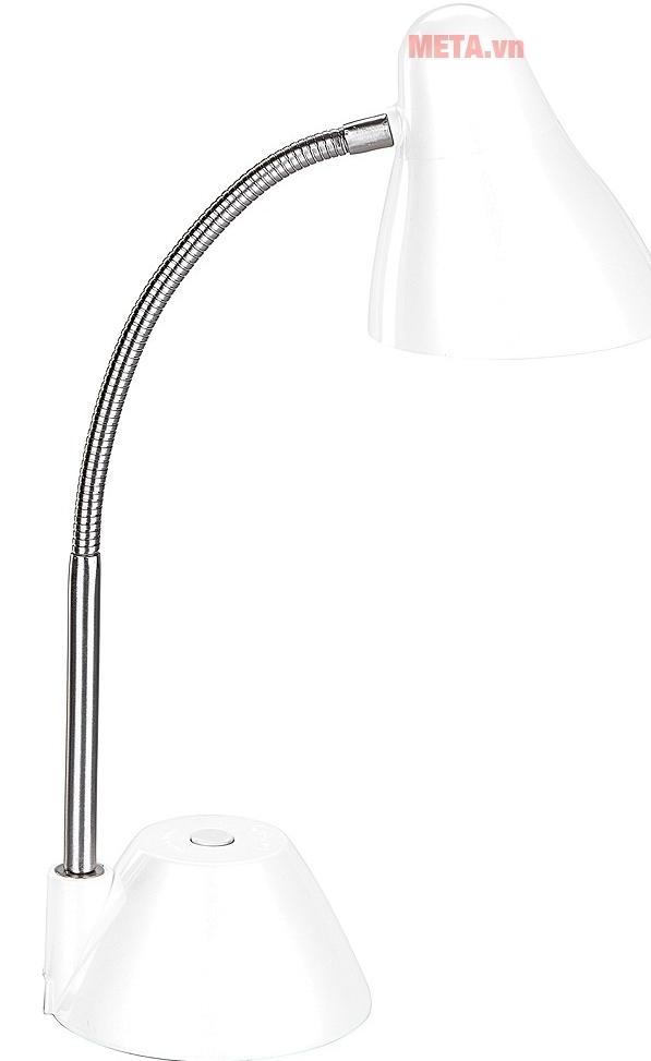 Đèn bàn cao cấp V-light P-LED 6W với thiết kế màu trắng.