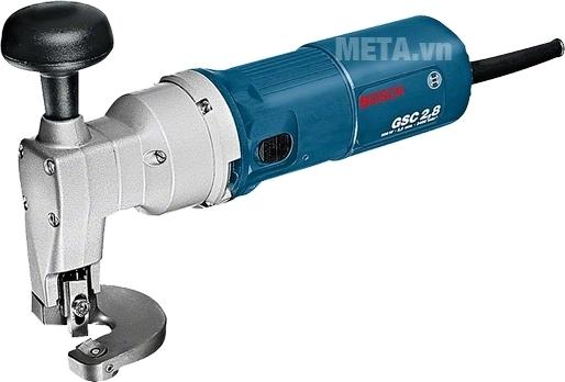 Máy cắt kim loại Bosch GSC 2.8 bảo vệ an toàn tối đa cho người thợ.