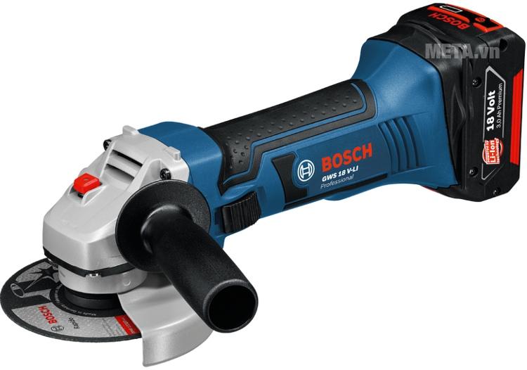 Máy mài góc dùng pin Bosch GWS 18V SET