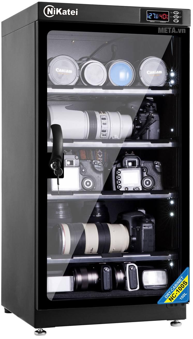 Tủ chống ẩm cao cấp Nikatei NC-100S (100 lít).