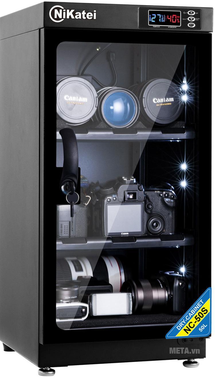 Tủ chống ẩm cao cấp Nikatei NC-50S (50 lít).