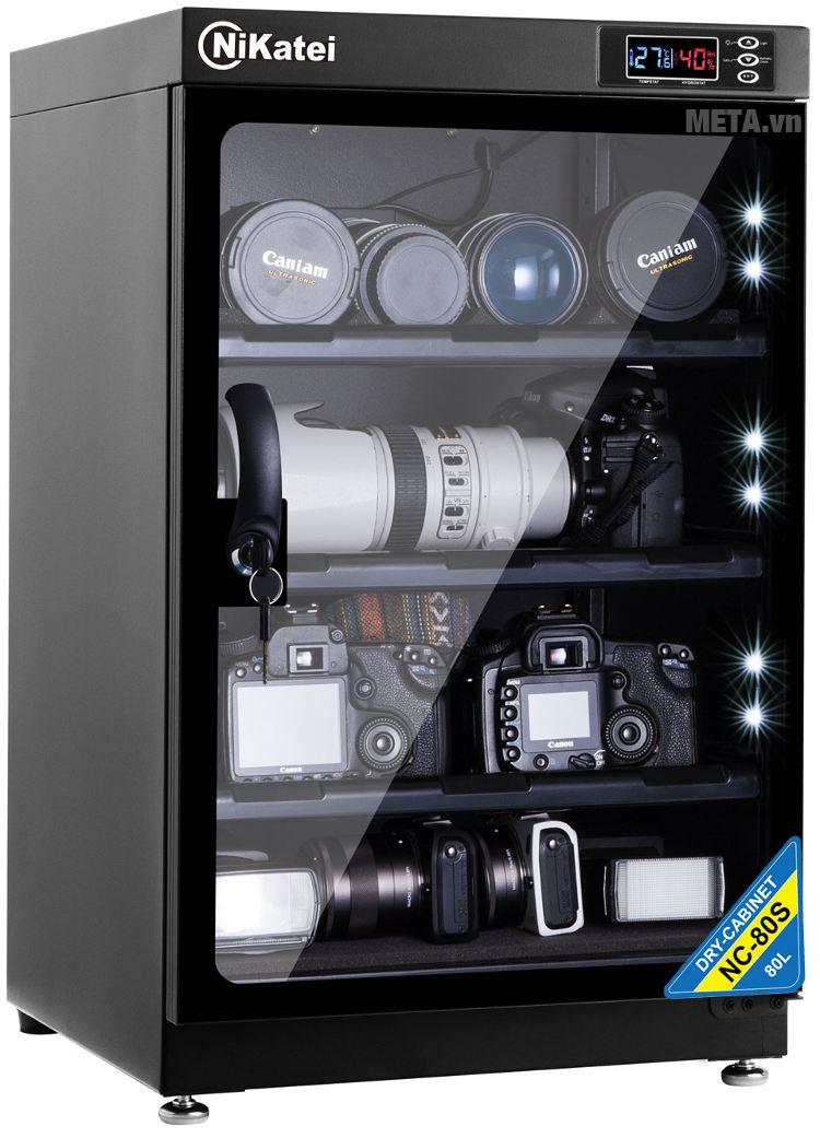 Tủ chống ẩm cao cấp Nikatei NC-80S (80 lít).