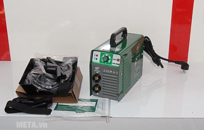 Máy hàn điện tử Legi LG-200 có kích thước nhỏ gọn dễ dàng di chuyển khi hàn ở trên cao.