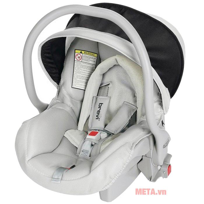 Ghế ngồi ô tô cho bé Brevi Smart Grillo BRE545G-051