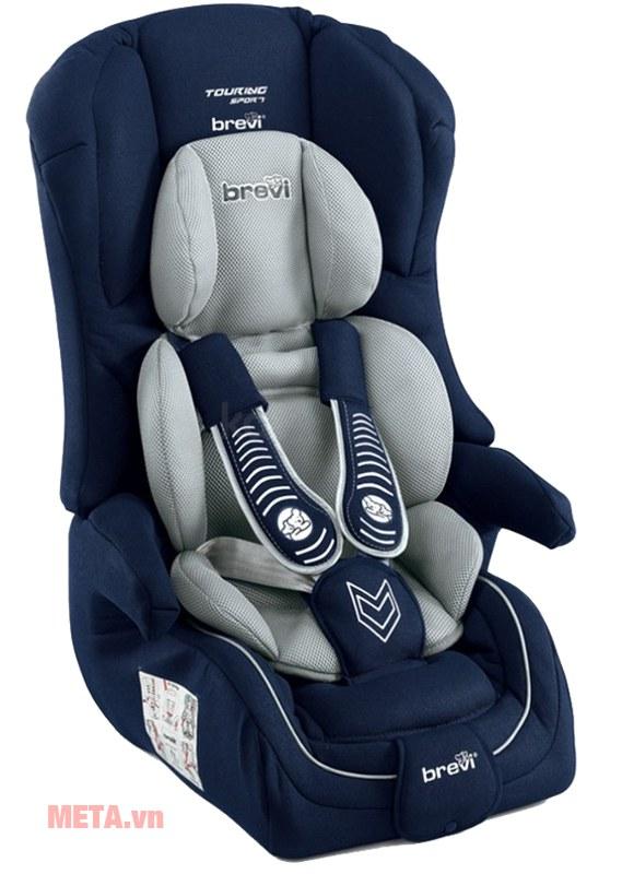 Ghế ngồi ô tô cho bé Brevi Touring Sport BRE510-258 màu xanh