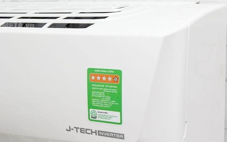 Điều hòa Sharp AH-X9SEW 1HP tiết kiệm điện năng tối đa cho người dùng.