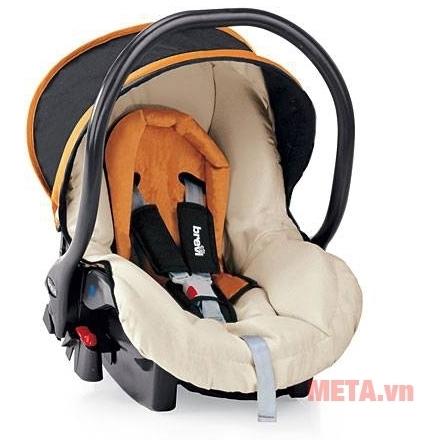 Ghế ngồi ô tô cho bé Brevi Smart Silverline BRE545-234