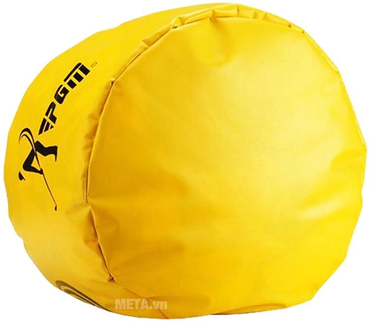 Túi đích tập swing với thiết kế màu vàng.