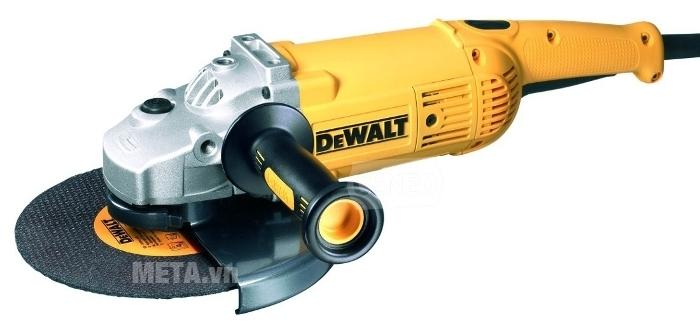Máy mài góc 180mm 2.200W DeWalt D28413 có tay cầm vừa vặn.