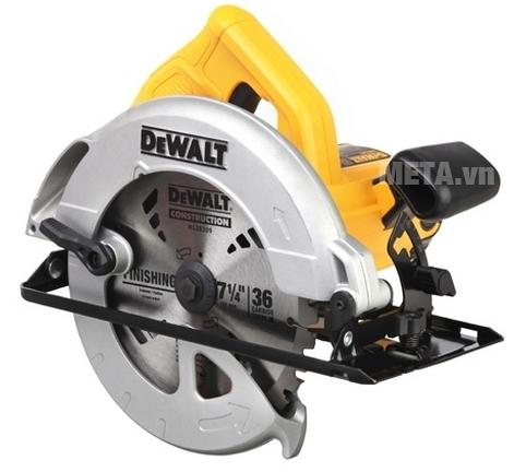 áy cưa đĩa 185mm DeWalt DWE561 thiết kế thông minh, gọn nhẹ, thao tác dễ dàng.