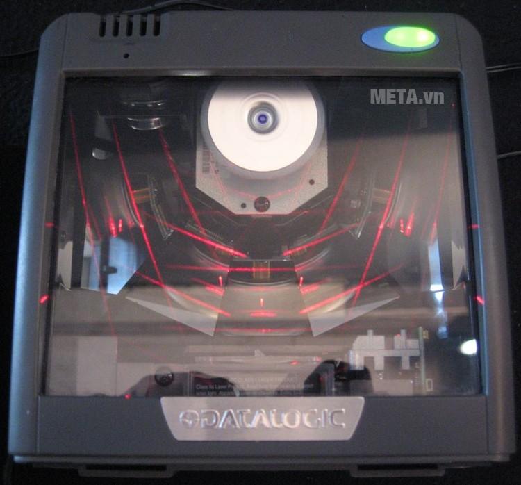 Máy đọc mã vạch Datalogic Magellan 2200VS thiết kế kính chịu lực.