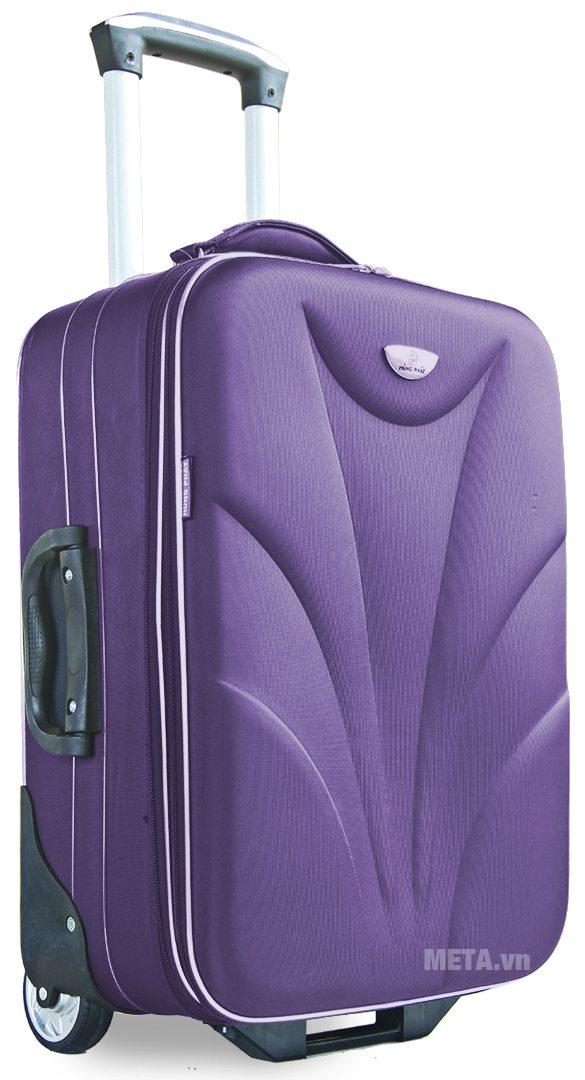 Vali thường 2 bánh VLT003G 28 inch với màu tím.