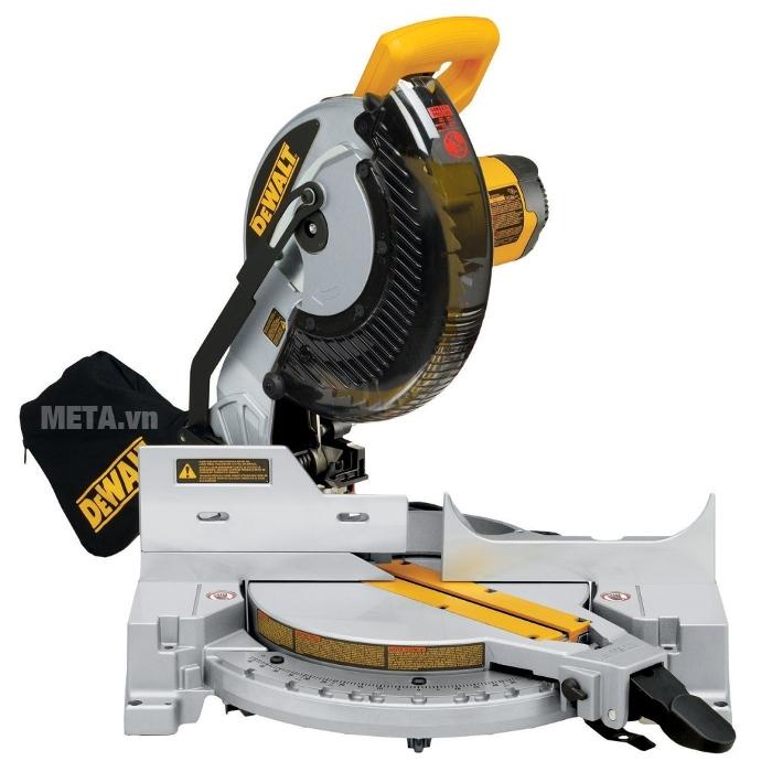 Máy cưa cắt góc đa năng 250mm DeWalt DW713 chuyên dùng cắt vật liệu cứng như gỗ, thép...