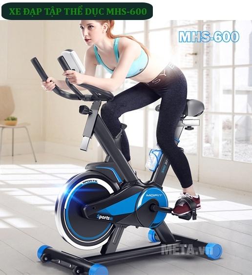 Xe đạp tập Mofit MHS 600 giúp bạn và gia đình khỏe mạnh và dẻo dai hơn.