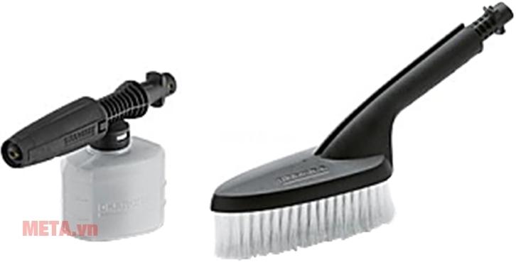 Phụ kiện máy rửa xe Karcher - Bộ đầu chà và bình xịt