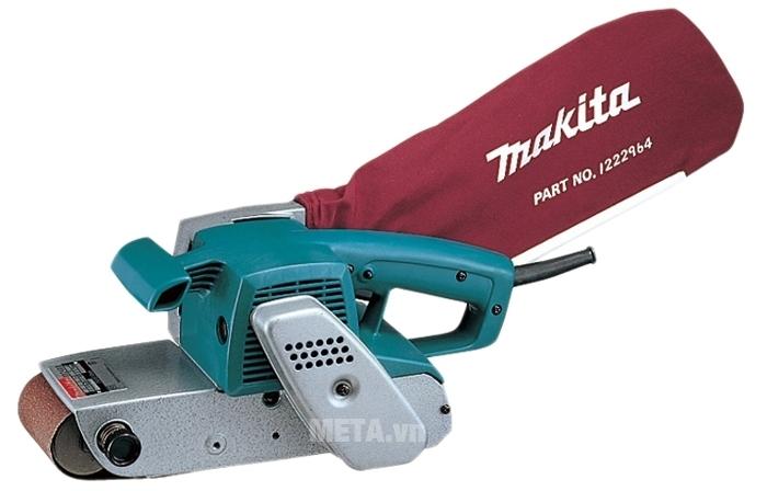 Máy chà nhám băng Makita 9924DB được làm bằng vật liệu bền chắc.