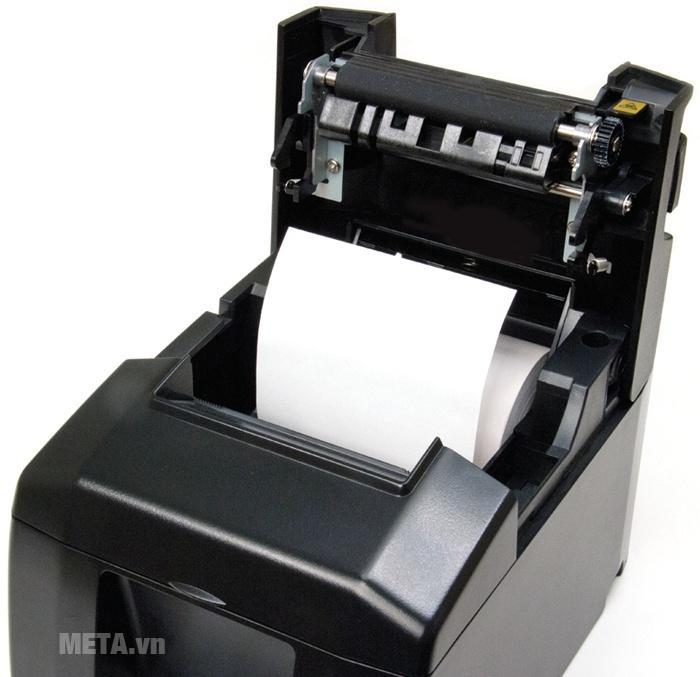 Máy in hóa đơn Star TSP654II có vỏ máy được làm bằng nhựa.